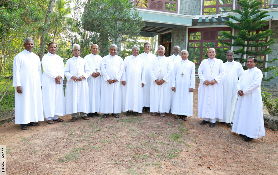 Meeting of the Bishops of KRLCBC at Summer House, Tangasseri, Diocese of Quilon